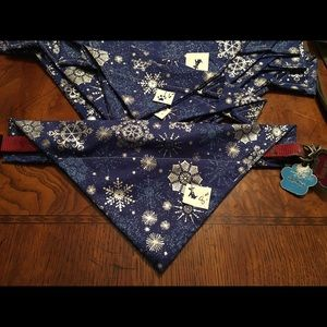 Dog Bandana Sz. Small ❄️